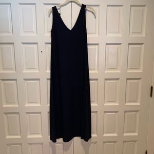 J Crew midi dress in rayon